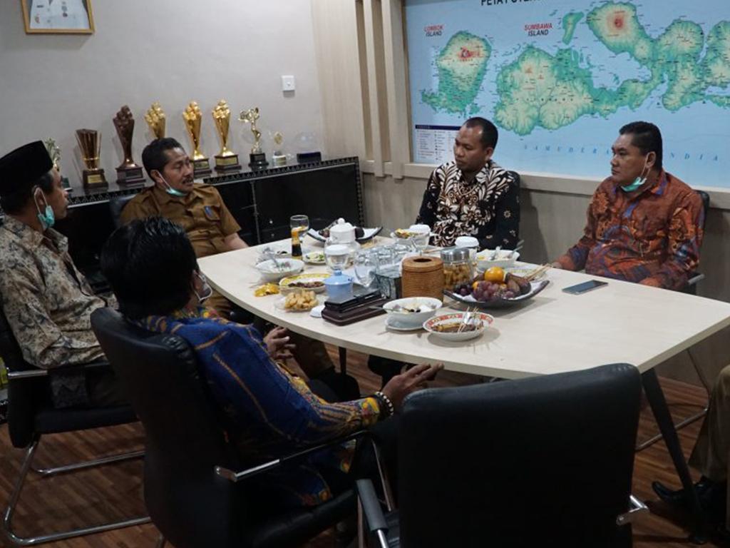 Kunjungan DPRD Kab. Sumbawa Barat di Bappeda Pro. Nusa Tenggara Barat